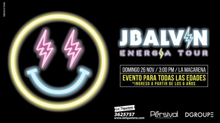 J BALVIN ENERGÍA TOUR