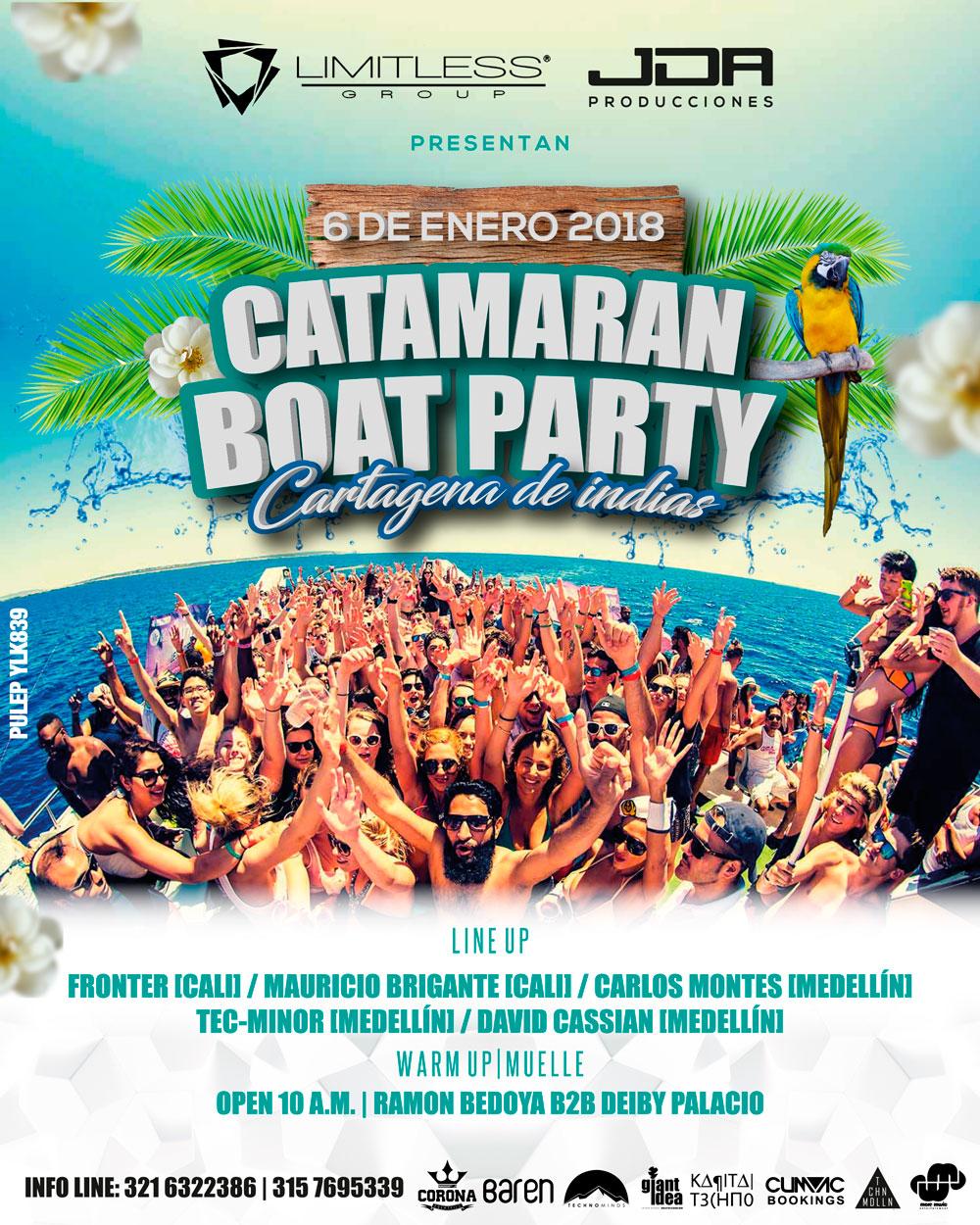 CATAMARAN BOAT PARTY