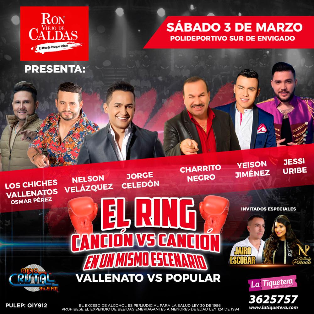 EL RING CANCIÓN VS. CANCIÓN