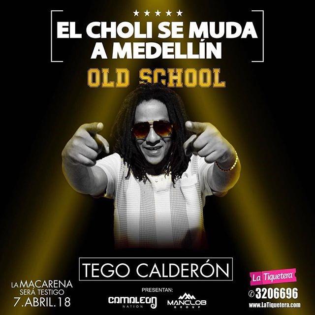 EL CHOLI SE MUDA A MEDELLIN OLD SCHOOL
