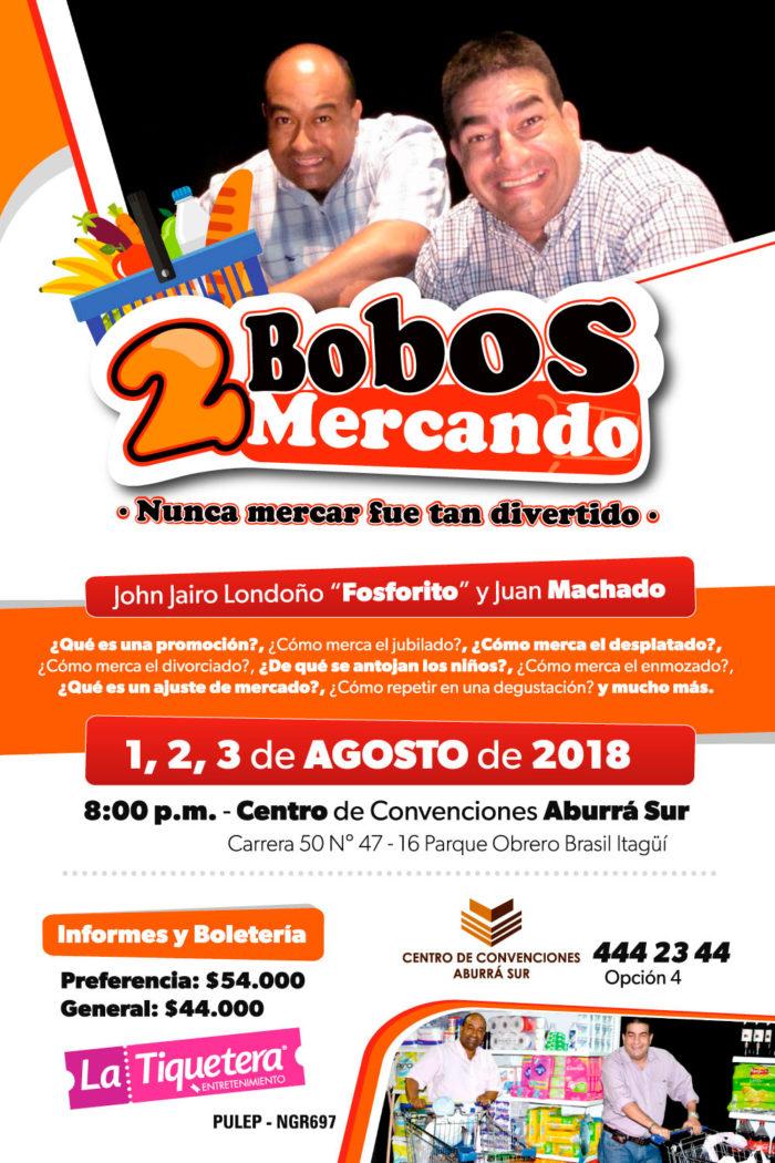 DOS BOBOS MERCANDO