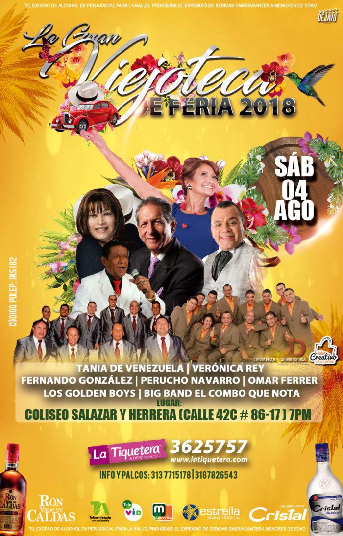 Gran Viejoteca Feria De Las Flores 2018
