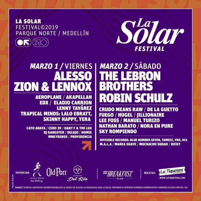 LA SOLAR FESTIVAL 2019