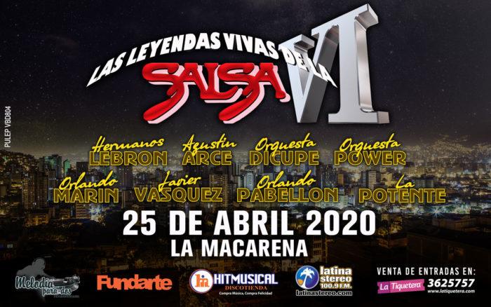 LAS LEYENDAS VIVAS DE LA SALSA VI