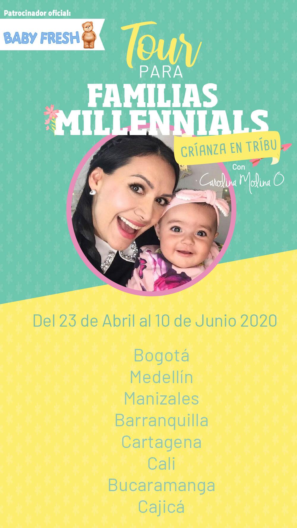 "Tour Para Familias Millennials ""Crianza En Tribu"""